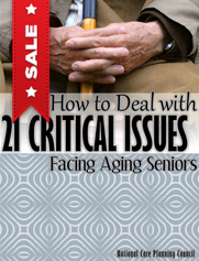 Book: How to Deal with 21 Critical Issues Facing Aging Seniors